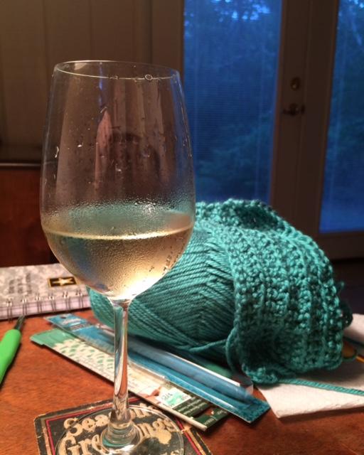 wineCrochet