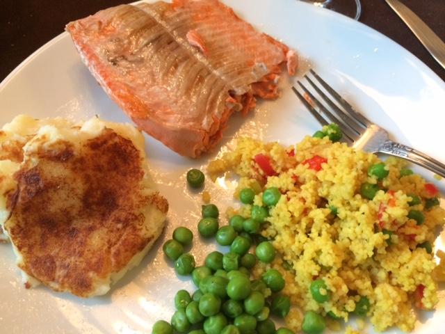 salmon potato cakes